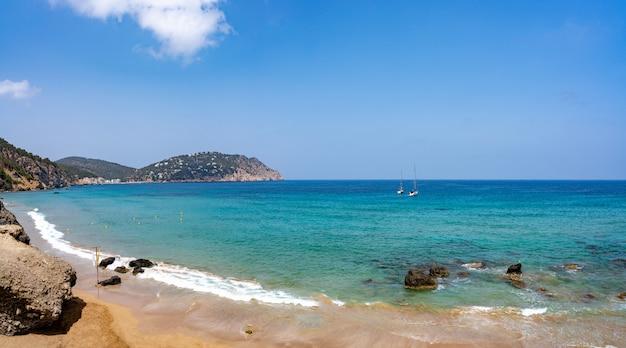 Ibiza beach aigua blanca in santa eulalia