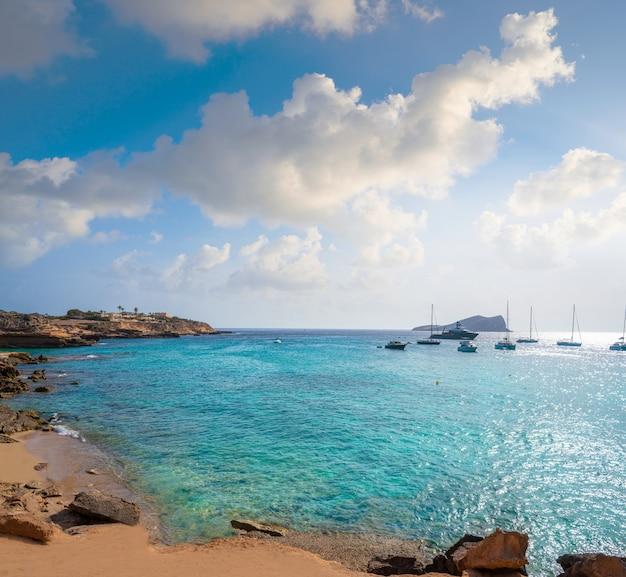 Ibiza cala comte conta beach balearics