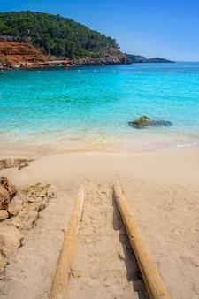 Ibiza cala salada and saladeta in balearics