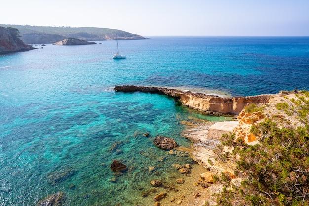 Ibiza cala xarraca in sant joan of balearics