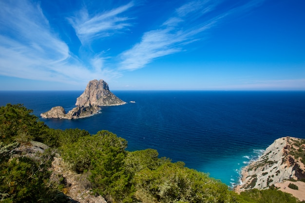Ibiza es vedra and vedranell from torre des savinar
