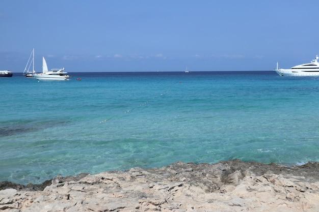 イビサフォルメンテラバレアレス諸島の風景