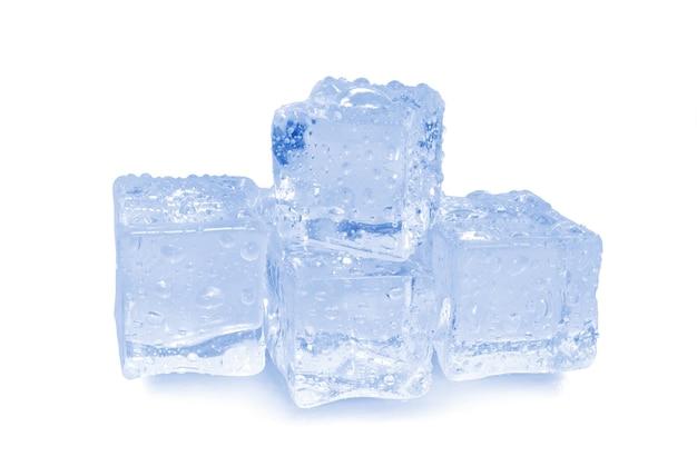 Расположение льда, изолированные на белом фоне