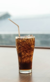 Ice cola glass