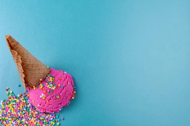 Ice cream and summer