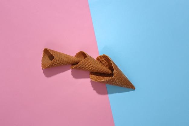 アイスクリームワッフルコーン
