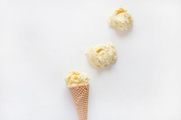 ココナッツフリーシュガーのアイスクリーム