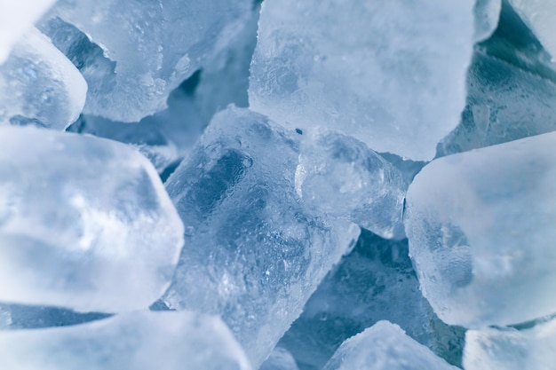Ice cube texture color soft blue