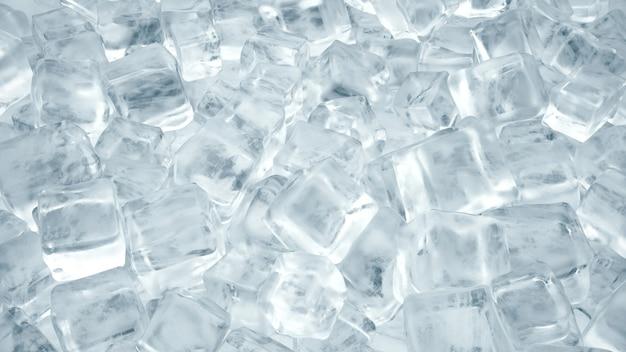 冷たい飲み物のためのアイスキューブ