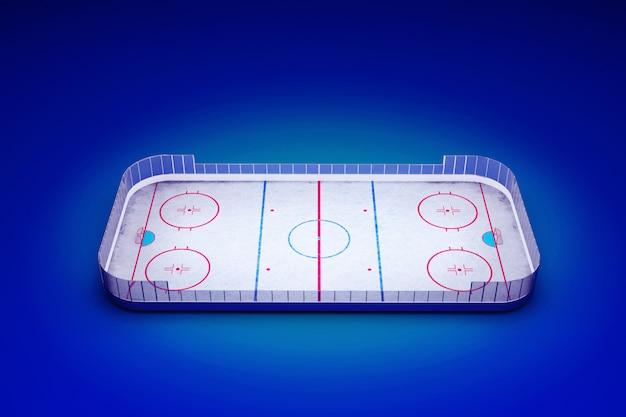 Ice hockey area