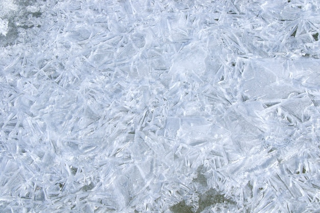 Ice texture, and pattern