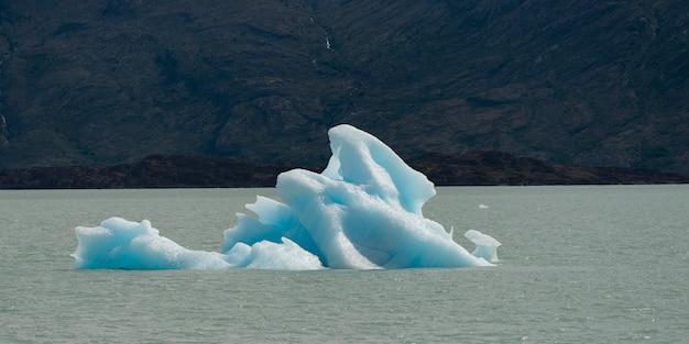 Iceberg in lake, lake argentino, los glaciares national park, santa cruz province, patagonia, argent