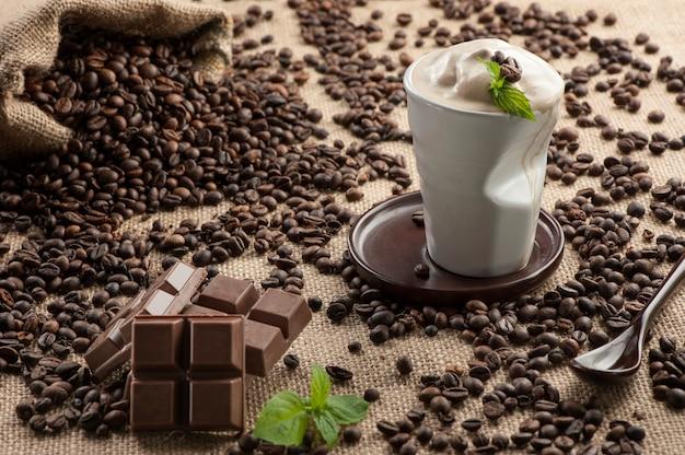 アイスブレンドフラペチーノ、コーヒー豆