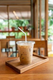 Чашка кофе со льдом
