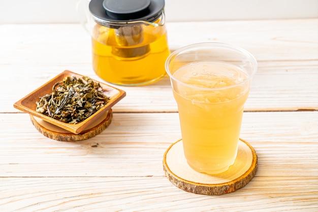 Холодный жасминовый чай