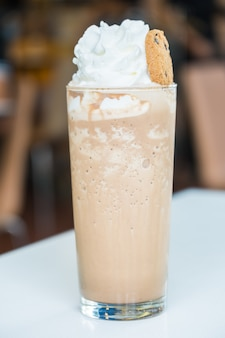 Iced smoothie coffee