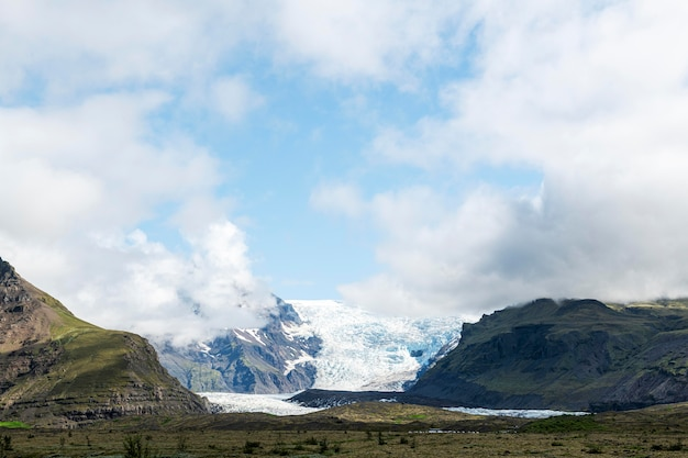 Iceland landscape of beautiful sky