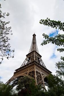 Iconic eiffel tower
