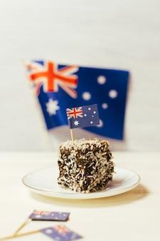 Знаменитые традиционные австралийские блюда для вечеринок lamington cakes