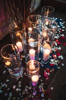 Идея церемонии расположение свечи романс