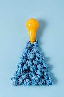 電球のアイデアコンセプト