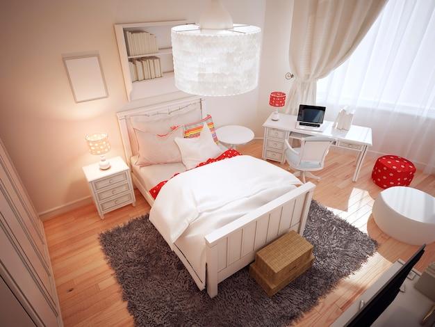 アールデコ調の寝室のアイデア。