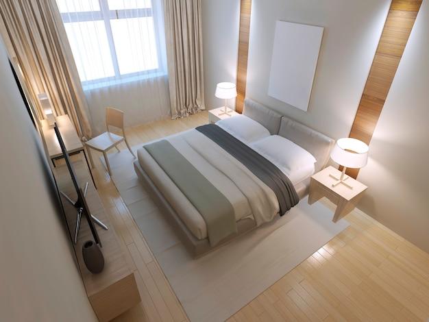 미니멀 한 침실 디자인 아이디어
