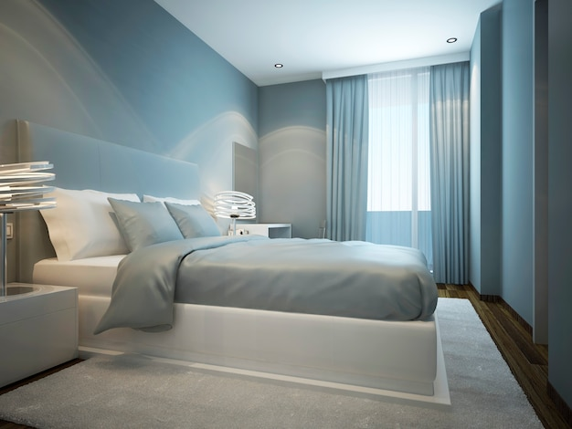 Idea of scandinavian bedroom design