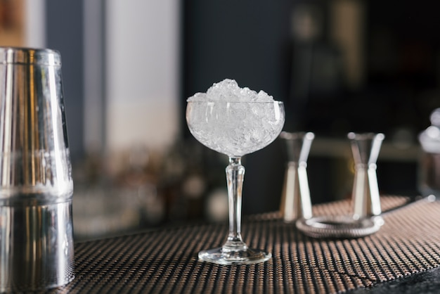 Ideal objects to prepare cocktails