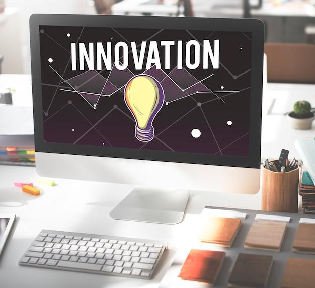 Idee progresso visione ispirazione design concept