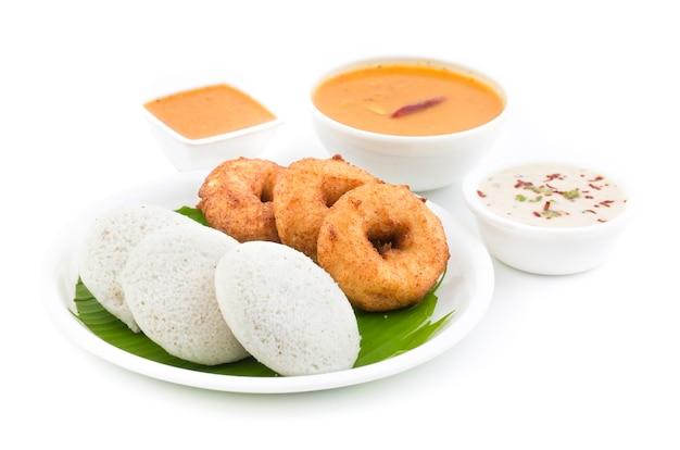 Idli vada south indian food
