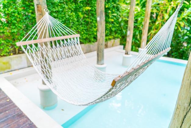Idyllic luxury villa chair nobody
