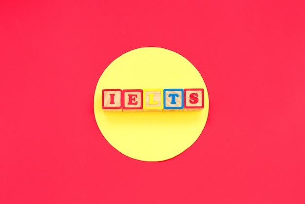 Ielts試験英語のコンセプト