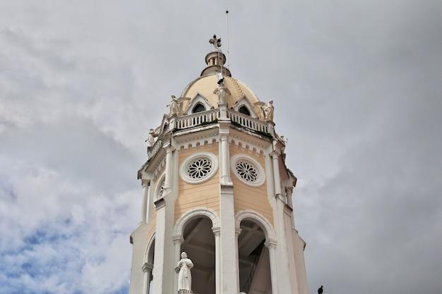 Иглесия сан-франциско де асис, церковь в каско вьехо, город панама, центральная америка