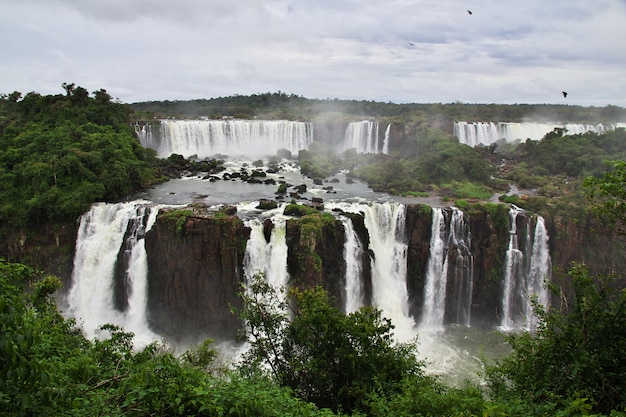 Iguazu falls in argentina and brazil