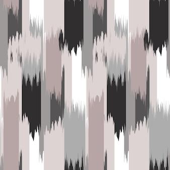 ファブリックのikatシームレスパターンデザイン。