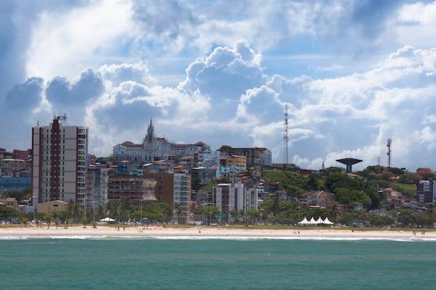 브라질 바이아 남쪽에있는 ilhéus 관광 마을.