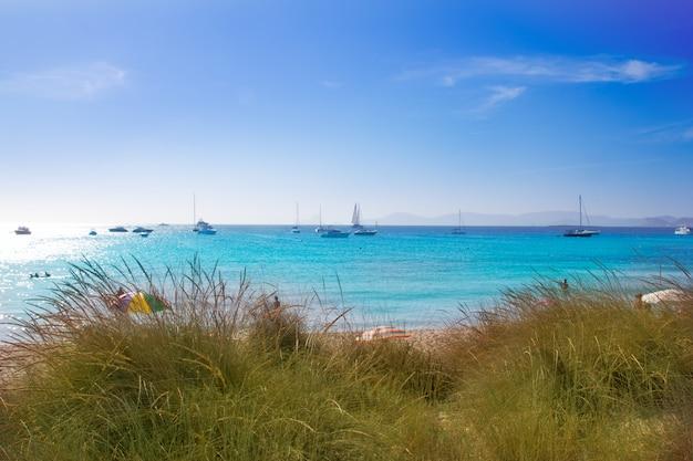 Illetes formentera beach turquoise water