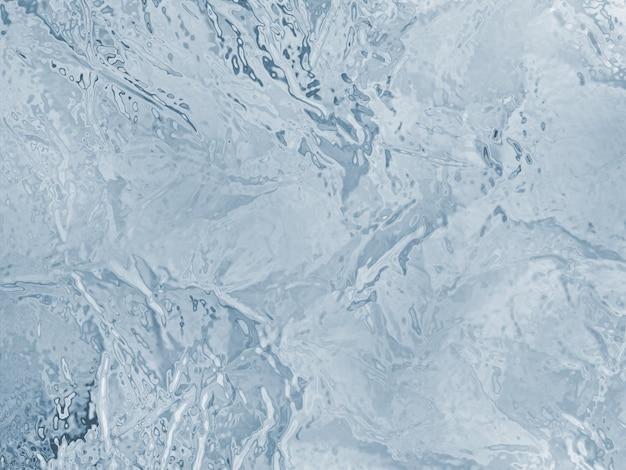 냉동 된 얼음 질감 일러스트