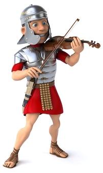 ローマの兵士のボランティアのイラスト
