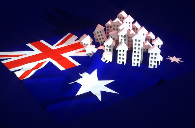 オーストラリアの不動産開発のイラスト