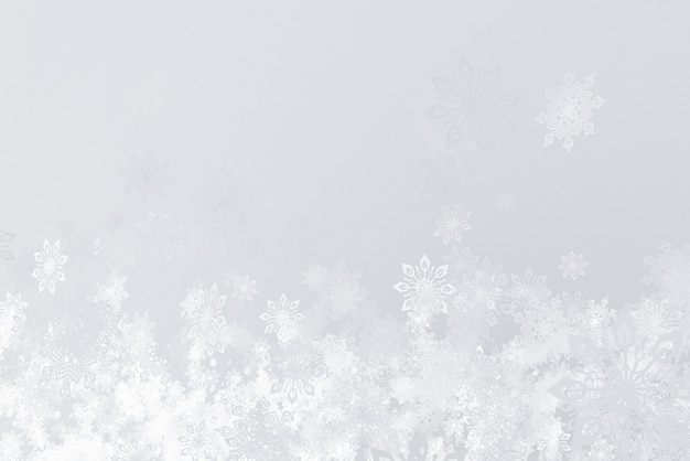 Illustration on the theme of the new year snowfall 3d illustration