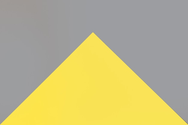 Iluminating yellow and an ultimate gray colors paper