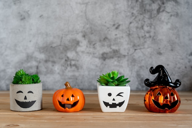 Image of decorations happy halloween day background holiday concept.