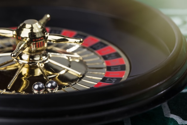 Image of decorative casino roulette