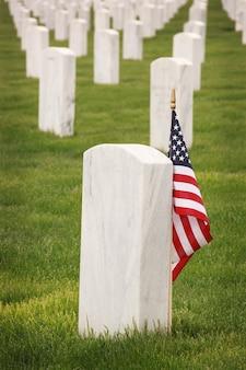 Image of graves of american heroes