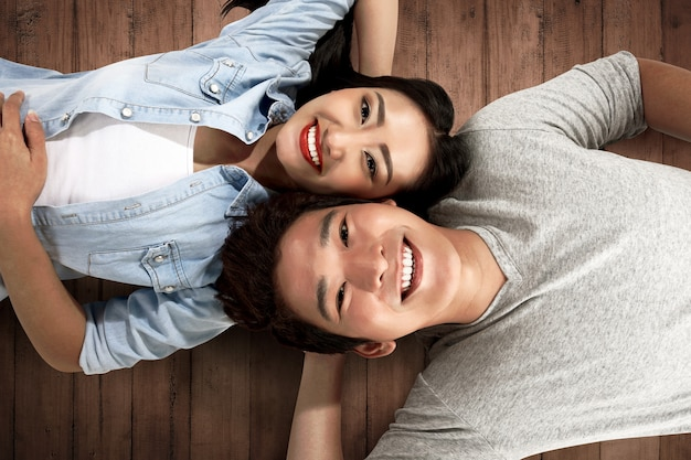 Image of lovely asian couple