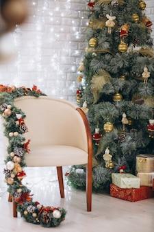 クリスマスデコレーションルームのイメージ