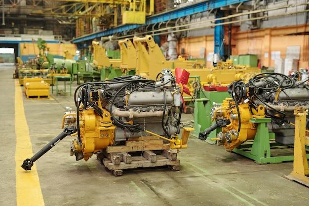 Изображение машинного оборудования на заводе