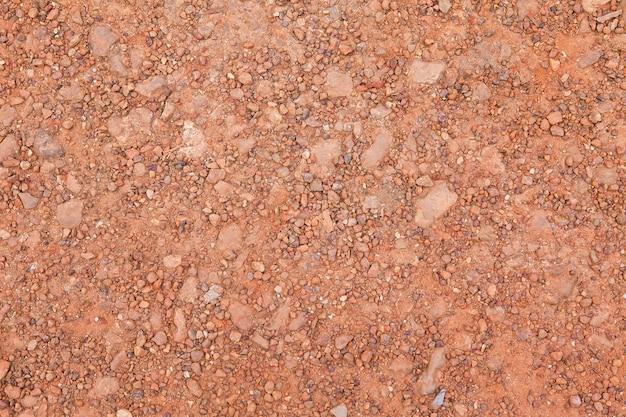 붉은 흙의 질감과 배경 이미지